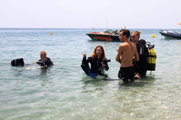 Learn Spanish in Spain with scuba diving