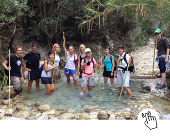 Learn spanish with activities at Cachorros Nerja