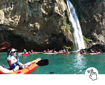 Learn spanish in Spain and Kayak