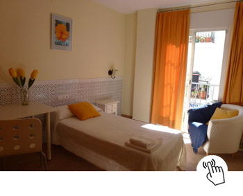 Standard single room at Club Costa Nerja