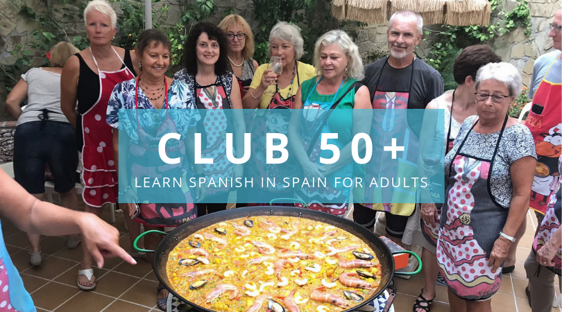 Learn spanish in Spain for adults