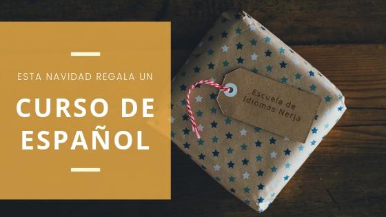 Estas navidades regala cursos de español