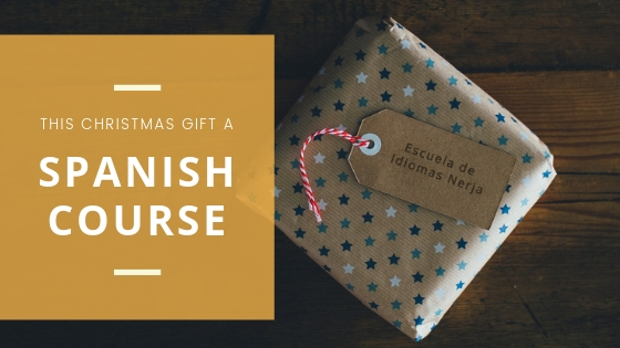Gift a spanish course in Spain