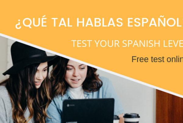 Test de nivel en español