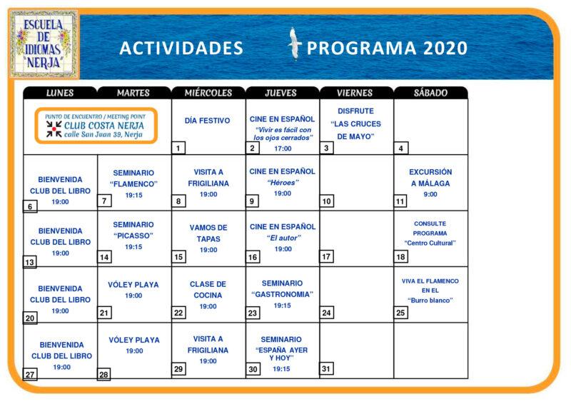 Actividades EI Nerja 2020